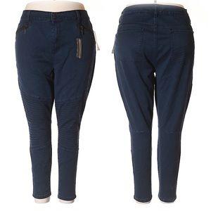 Melissa McCarthy Seven7 Pencil Dark Skinny Jeans
